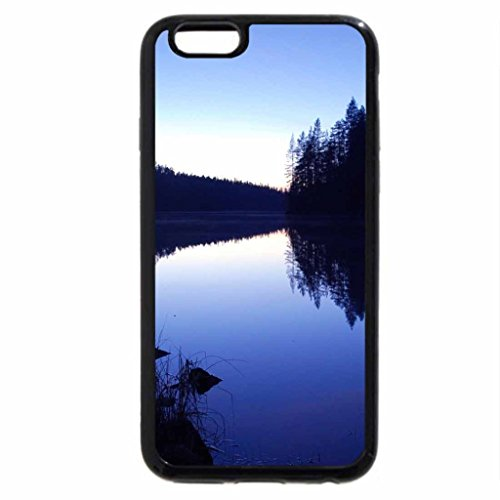 iPhone 6S Plus Case, iPhone 6 Plus Case, Blue Lake