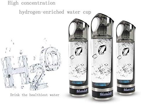 JKYQ Wasserstoff-Wasser-Generator Hohe Konzentration wasserstoffangereicherter Wasserbecher Maker Machine Ionizer mit Filter Anti-Aging Keep Body Hydrated