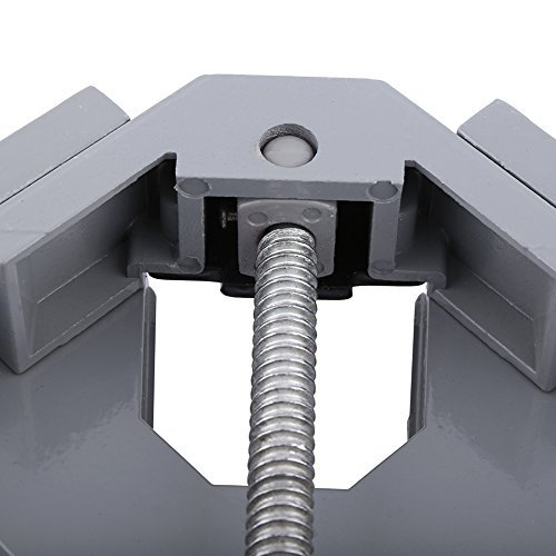 Yosoo Heavy Duty 90 Degree Corner Right Angle Clamp Vise For Woodworking Single Handle
