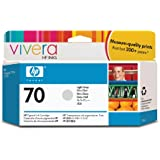 HP 70 Light Gray 130 Ml Ink Cartridge Use In Selected Hp Designjet Printers.