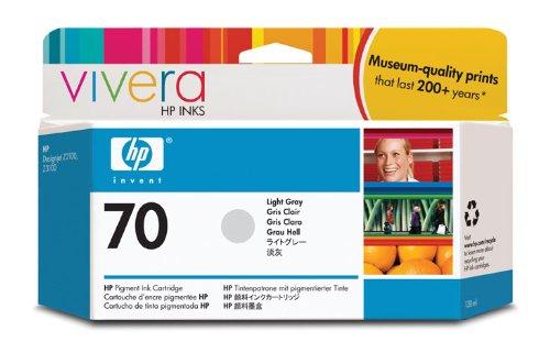 HP 70 Light Gray 130 Ml Ink Cartridge Use In Selected Hp Designjet Printers.
