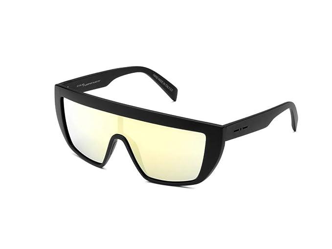 9241ccf7d4283 ITALIA INDEPENDENT occhiali da sole matt black plastik 0912 GIANLUCA VACCHI  nero opaco  Amazon.it  Abbigliamento