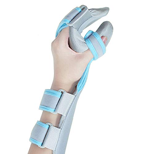 Medical Functional Resting Orthosis Hand Wrist Splint for Tendinitis, Inflammation, Carpal Tunnel, Tendonitis, Splint for Wrist and Forearm Support and Alignment (Left/M)