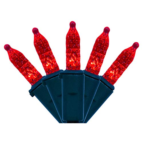 Red And Green Led Icicle Christmas Lights