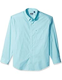 Men's Big and Tall Essential Solid Long Sleeve Shirt