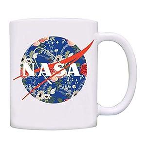 Lunar NASA Floral Color Coffee Mug 53