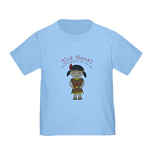 CafePress - Pilgrim Girl Toddler T-Shirt - Cute Toddler T-Shirt, 100% Cotton