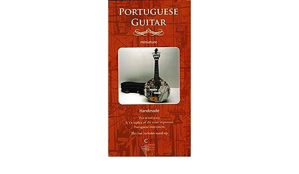 Portuguese Guitar - Hand Made Portuguese Guitar Miniature ...