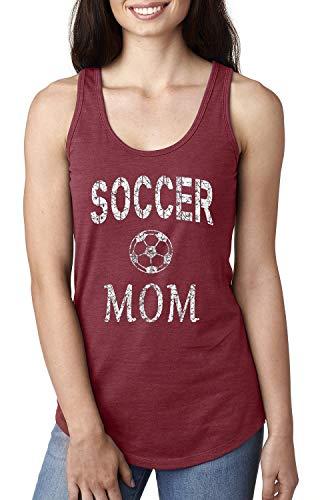 Soccer Mom Sports Women's Racerback Tank Top (MSC) Scarlet