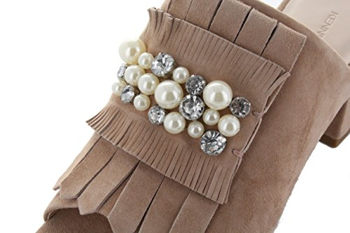Women's Schmenger Crystal Nelli Rosette amp; beige Clogs Kennel qEv6A6