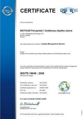 Tergicristalli MOTGUM METALLICA CON SPOILER PASSAGGERO 510MM 60099091 Spazzole di ricambio
