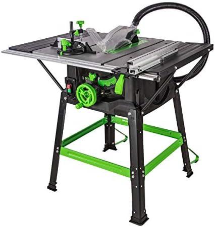 Evolution Power Tools - Sierra de mesa multiusos Fury 5-S, 255 mm (230 V): Amazon.es: Bricolaje y herramientas