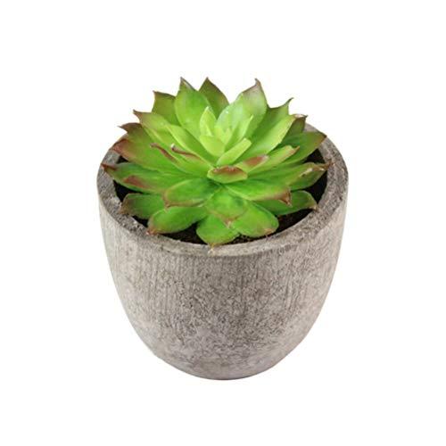 Succulents Flower Pot Imitation Plastic Balcony Bonsai Basin Garden Organizer