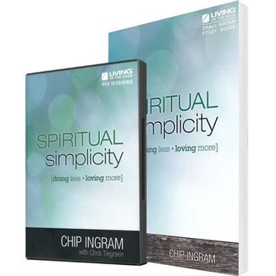 - Spiritual Simplicity Group Starter Kit (1 DVD Set & 5 Study Guides)