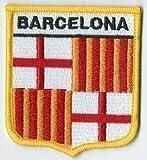 Barcelone, Catalogne, Espagne Espagnol Écusson *EXCLUSIVE pour Parure-cadeaux *