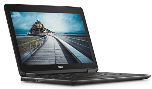 2017 Dell Latitude E7240 Flagship Business Laptop, 12.5? Full HD Touchscreen, Intel Core i7-4600U, 8GB DDR3L RAM, 512GB SSD, Webcam, Windows 10 Professional (Renewed) (Difference Between I3 And I5 Processor In Laptops)