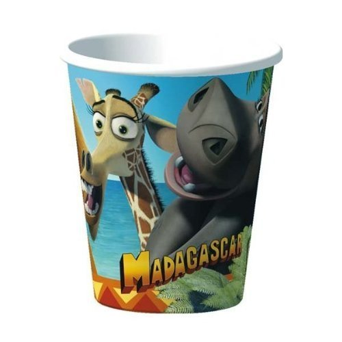 Madagascar Cups - 8 Count (9 oz.)