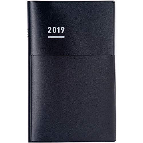 Weekly Vertical A5 Slim Myself Notebook Biz Mat Cover Type (Japanese/A5/March 2019 Start/Mon Start)