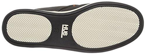 Hub Chucker C06 - Zapatos de cordones derby Hombre Negro - Schwarz (black/off white 156)