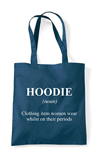 Dictionary Bag Hoodie Tote Not The Definition Funny Shopper Alternative In Petrol wwq6P8Y