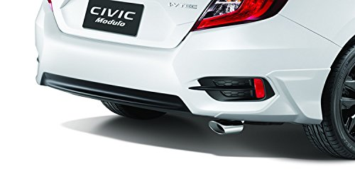 Auténtica Honda Civic 2016 Accesseries 2pcs de consejos Finisher de escape Tubo 1,5 Turbo Enine: Amazon.es: Coche y moto