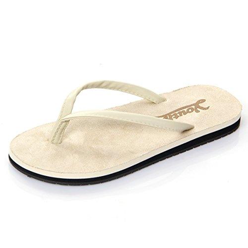 df6548e67 Langforth Women S Vegan Suede Anti-Skidding Flip Flop Flat Sandals - Buy  Online in Oman.
