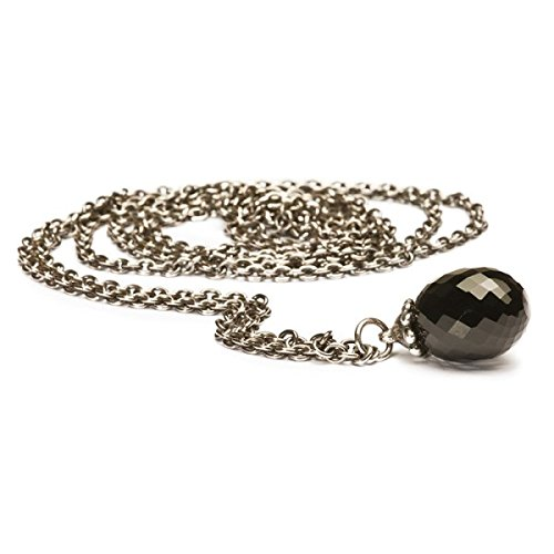 Trollbeads Necklace Fantasy Black Onyx 70cm- TAGFA-00002