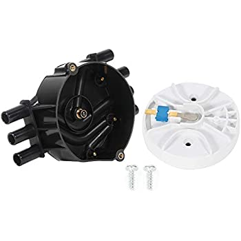 ECCPP Ignition Distributor Fits for Chevy Astro//Blazer// C1500// Express 1500 GMC C1500// Jimmy//Safari//Sierra 1500// Sonoma 1995-2007 Compatible with OE DR475 10452458 D319A