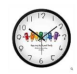 Sucastle Modern, innovative Creatives, personality, stylish, Wall Clock, simple, 12'' (no battery) NCDB