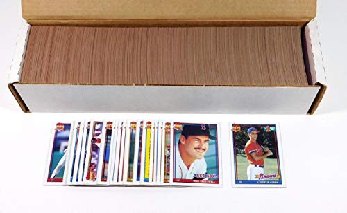 1991 Topps Baseball Complete Set (792) Chipper Jones -