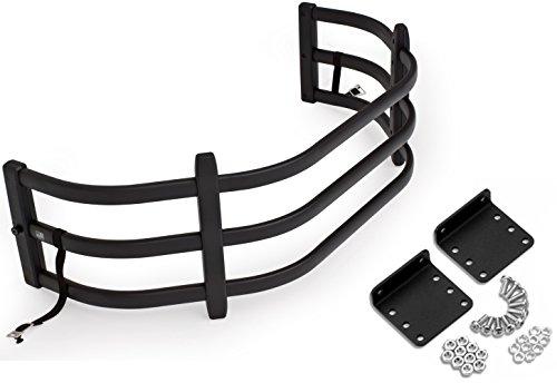 AMP Research 74801-01A/74601-01A Bundle Black Bed X-Tender HD Sport w/Bracket Kit
