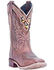Laredo Western Boots Womens Stockman Beko Distressed Brown 5653