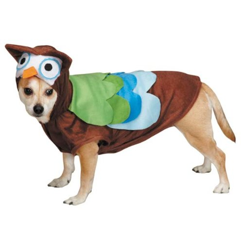 Dog Owl Costume (Zack & Zoey Cute Hoots Costume,)