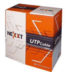 Nexxt UTP Cable 4 Pairs Cat6 Grey  sc 1 st  Amazon.com & Amazon.com: Nexxt UTP Cable 4 Pairs Cat6 Grey: Computers u0026 Accessories Aboutintivar.Com