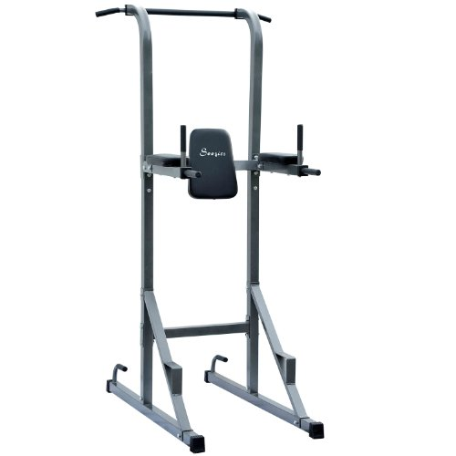 Soozier-Fitness-Power-Tower-w-Dip-Station-Pull-Up-Bar