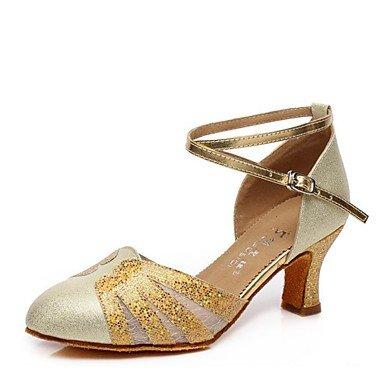 US6   EU36   UK4   CN36 Wuyulunbi@ Wohommes Paillette Talon sandale Piscine Paillette Argent Or bleu L'or