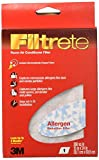 3M Filtrete Room Air Conditioner Filter 15' X 24' X 1/8' Pack of 6
