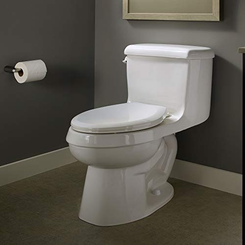 American Standard 5321A65CT.020 Champion Slow-Close Elongated Toilet Seat, White by American Standard (Image #1)