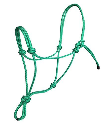 Horse Rope Halters - 11 Sizes - Miniature, Foal, Weanling, Pony, Cob/Arab, Horse, Warmblood, Draft & Custom (Foal, ()