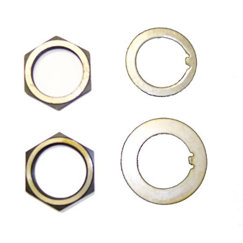 (Omix-Ada 16710.01 Spindle Nut and Washer Kit)