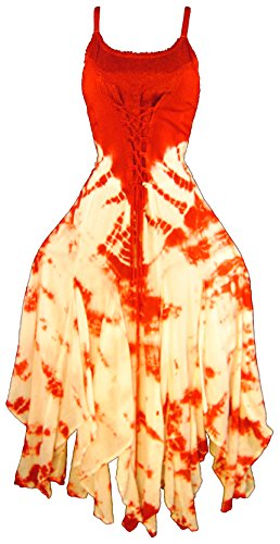 [Advance Apparels Medieval Renaissance Corset Style Fairy Dress 16209 (Plus)] (Renaissance Style Dress)