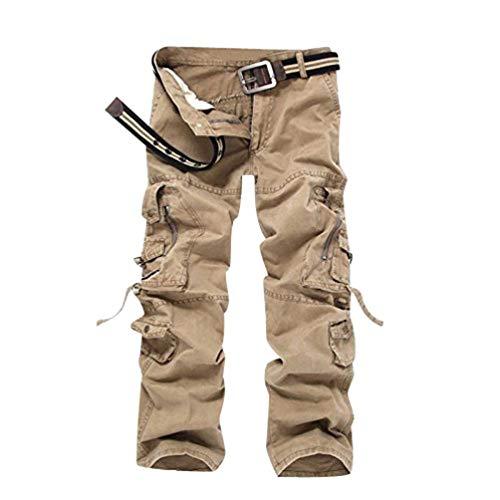 Carico Saoye Da Lunghi Multiuso Giovane Uomo Pocket Regular Pantaloni Fashion Gelb Cargo Army Senza Lavoro BwU1qHR1