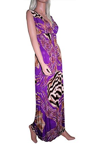 Raivar Damen Kleid Gr. 42/44 EU, violett