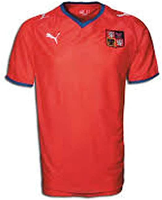 PUMA Czech Republic Home Jersey 08/09 RED (japan import): Amazon.es: Deportes y aire libre