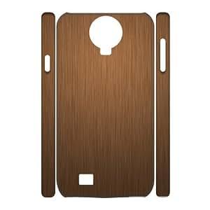 3D Vinceryshop Wood Texture Samsung Galaxy S4 Case, Cute Case for Samsung Galaxy S4 Mini {White}