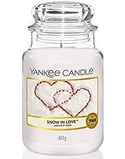 Yankee Candle geurkaars in glas, Snow in Love