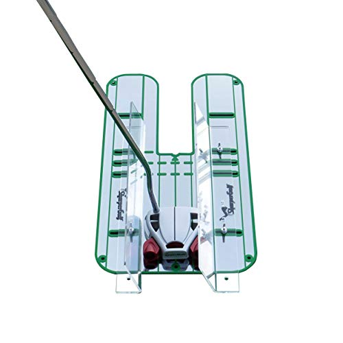 SharperGolf Premium Guide Rails Putting Mirror Large 9.25