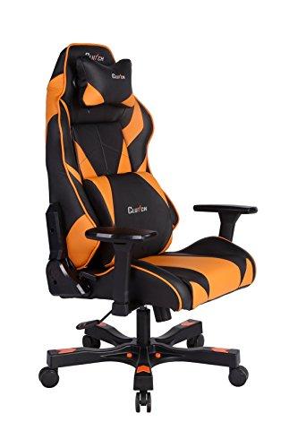 Gear Series Bravo Gaming Chair Black Orange Gaming