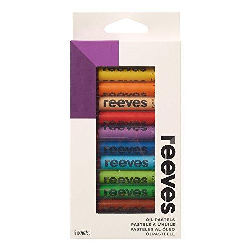 Reeves Oil Pastels-Set of 12