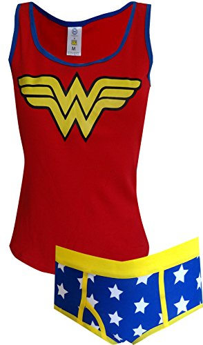 DC Comics Wonder Woman Tank/Brief Panty Set